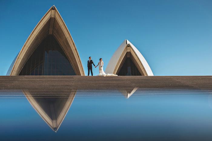 Невероятно красивые свадебные фото (40 фото)
