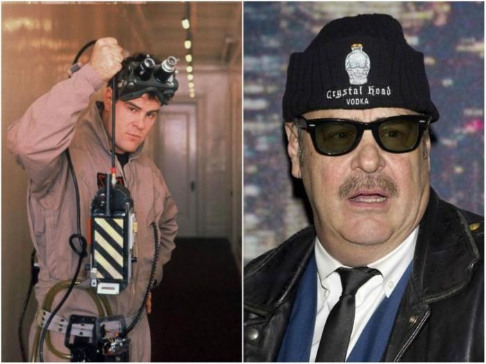 Актеры комедии «Охотники за привидениями» тогда и сейчас (8 фото)
