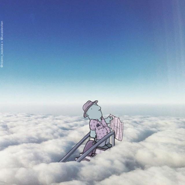 Забавные существа Лукаса Левитана на фото из Instagram (40 фото)