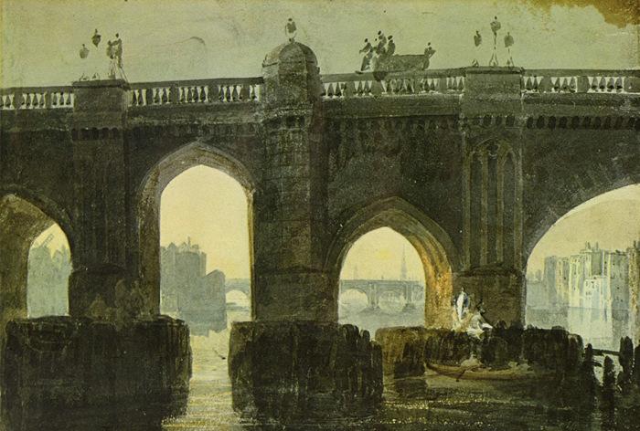 Как изменились различные города на известных картинах в течение столетий (38 фото)