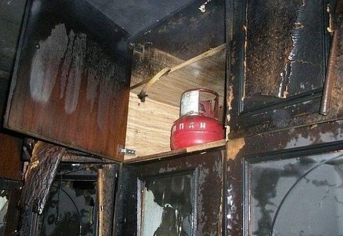 Пожарным несказанном повезло (фото + видео)