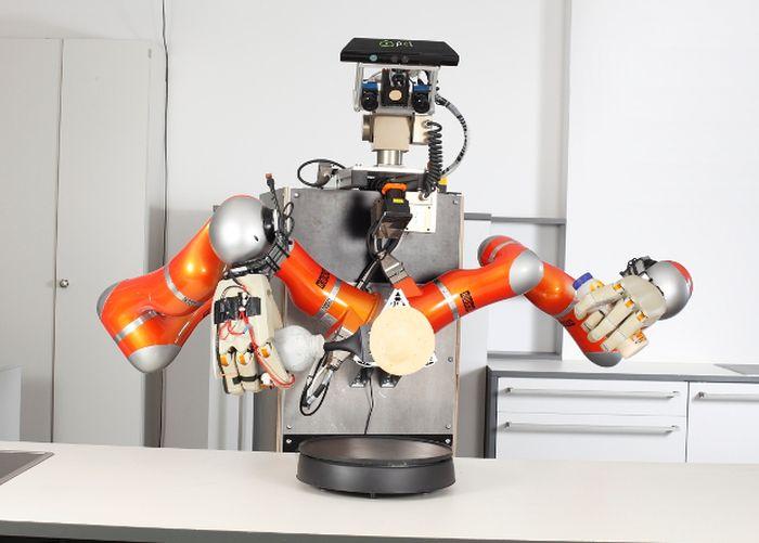 Робот самостоятельно научился готовить блинчики (2 фото + видео)