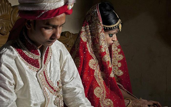 Типичная свадьба в Бангладеше (14 фото)