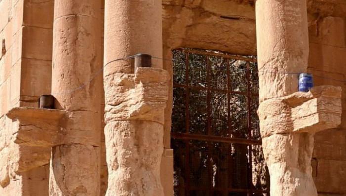 Боевики ИГИЛ уничтожили храм Ваала в Пальмире (5 фото)