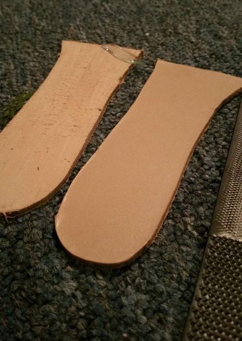 Фотоотчет по изготовлению ботинок вручную (37 фото)