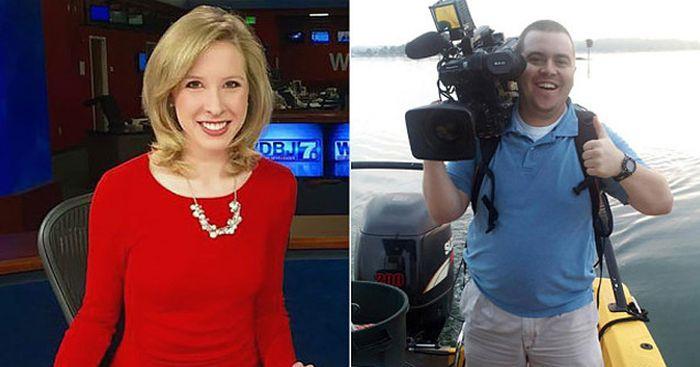 В США бывший сотрудник телеканала расстрелял коллег-журналистов во время прямого эфира (7 фото + 2 видео)