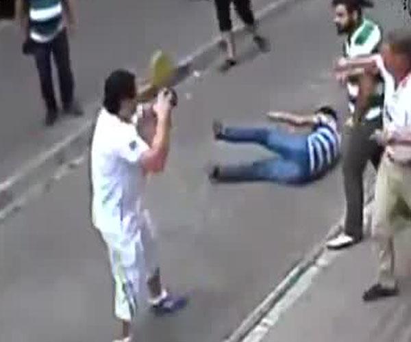 Турист против турков