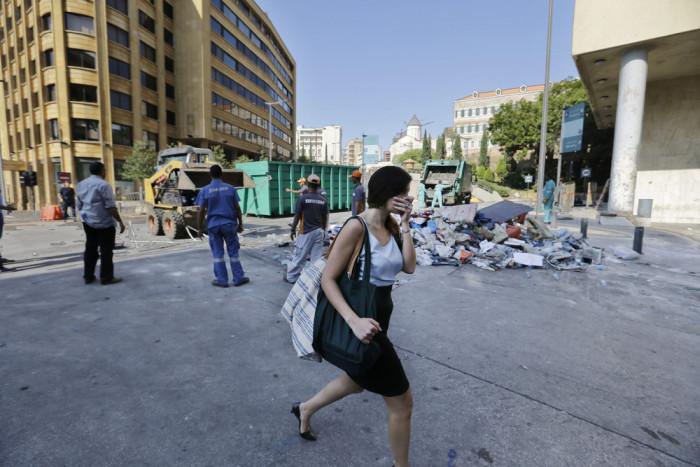 В Бейруте ищут пути выхода из мусорного кризиса (18 фото)