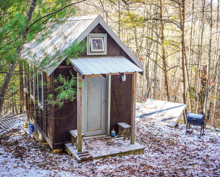 Миниатюрные дома жителей США (26 фото)