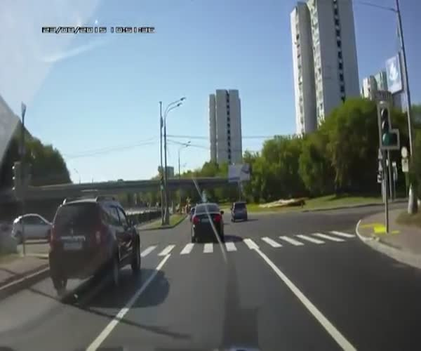 Неадекватные водители нашли друг друга