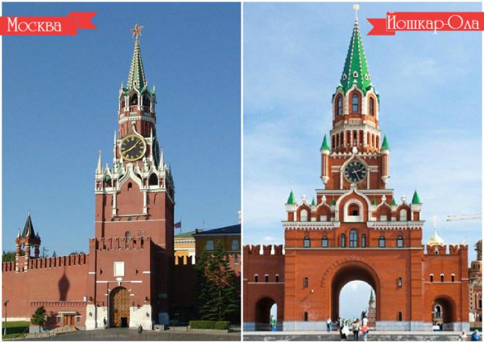 Места в других городах, напоминающие Москву (12 фото)