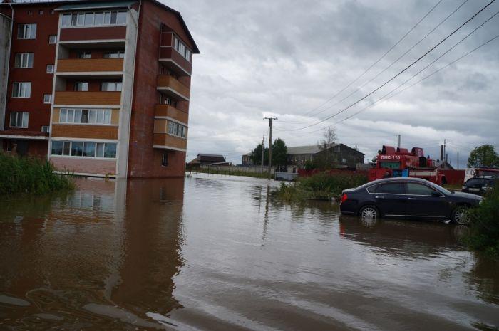 Уссурийск и близлежащие населенные пункты оказались затопленными (19 фото)