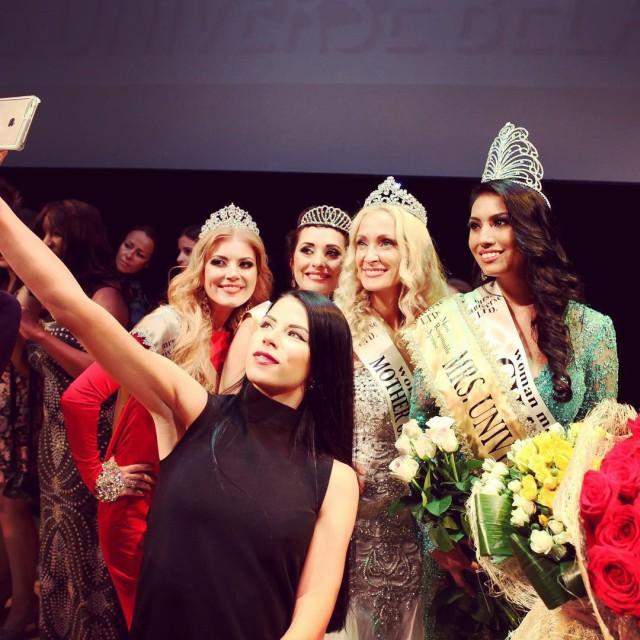 Канадская модель Эшли Бёрнэм одержала победу в конкурсе «Миссис Вселенная-2015» (16 фото)