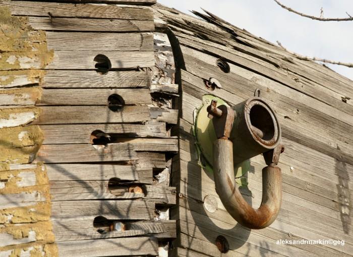 Деревянный «Буран» в аэропорту Раменское (10 фото)