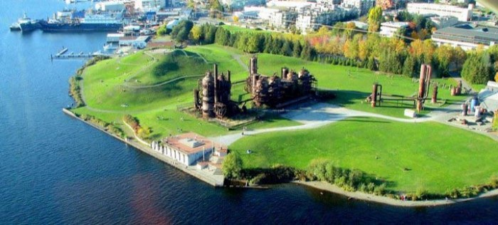 Как старый завод стал популярным городским парком (7 фото)