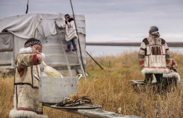 Как живут нганасаны в наши дни (28 фото)
