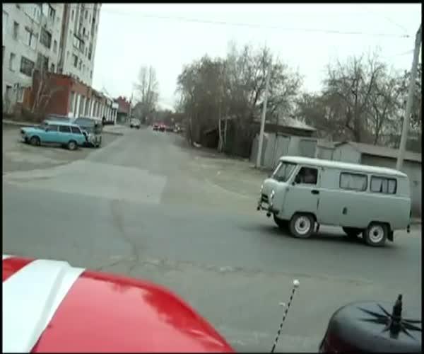 Пожарный автомобиль в Омске