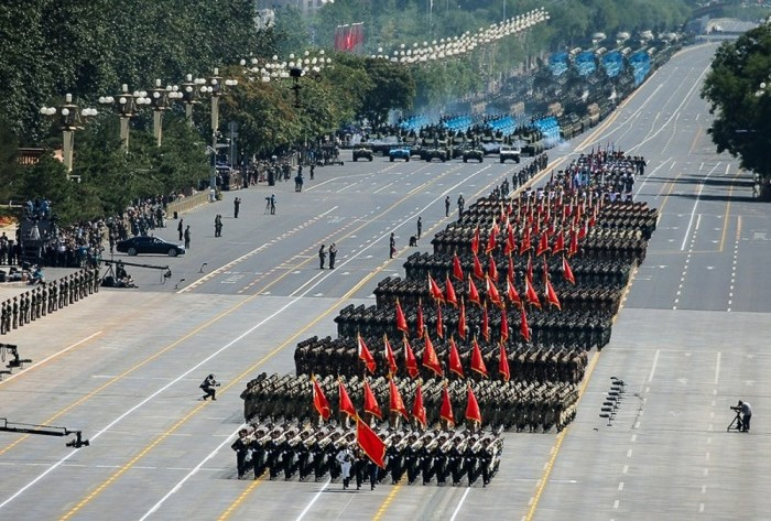 В Пекине прошел парад в честь 70-летия окончания Второй мировой войны (21 фото + видео)