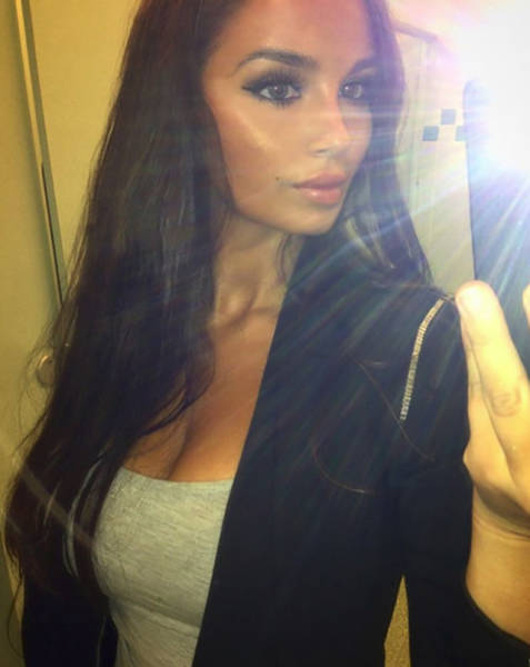 Шведская красавица из Instagram Инес Хелен (26 фото)