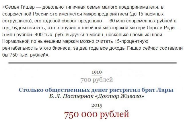 Денежные суммы из произведений российских классиков в переводе на современные рубли (11 скриншотов)
