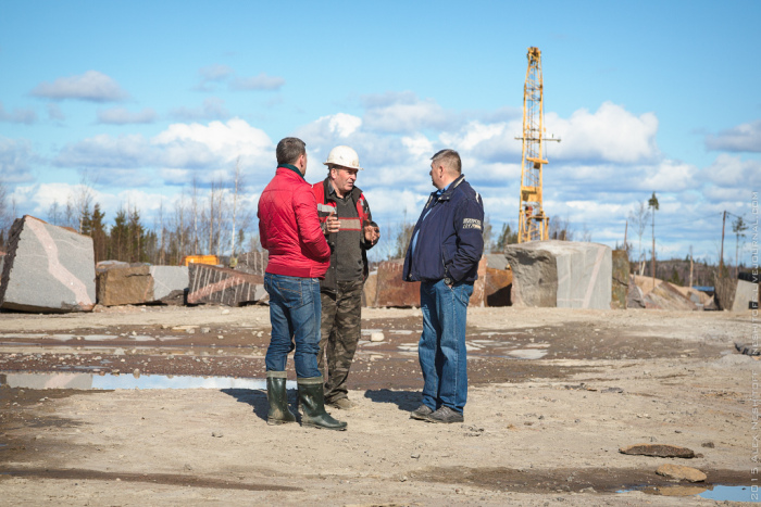 Добыча гранита в современной России (23 фото)