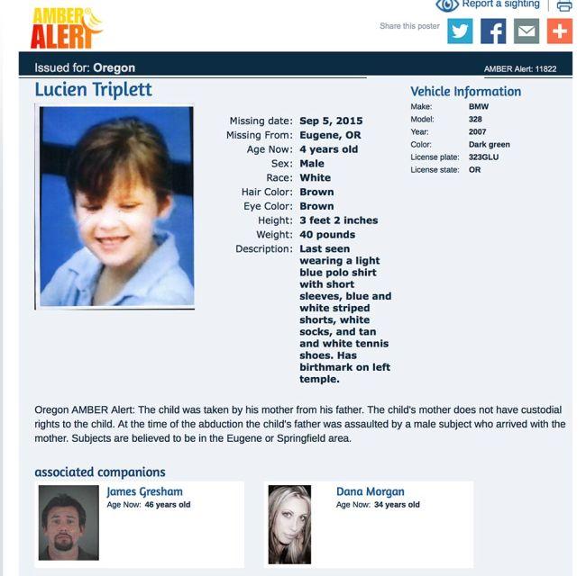 Как ищут похищенных детей в США (4 фото)