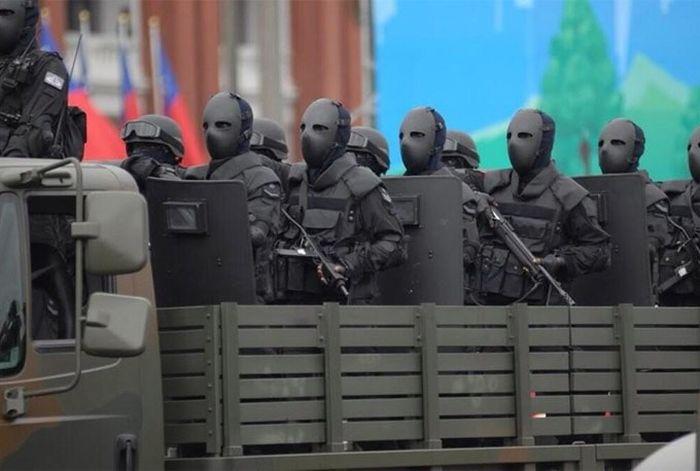 Баллистическая маска бойцов спецназа (5 фото)