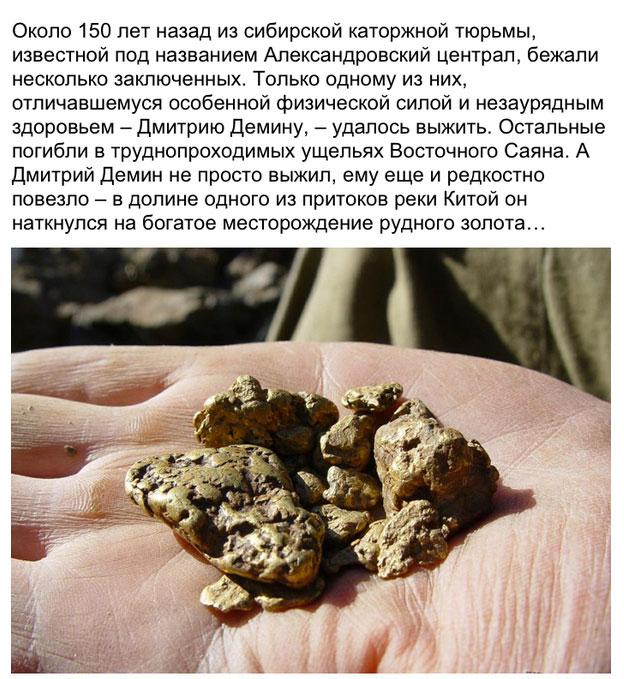 Неразгаданная тайна деминского золота (8 фото)