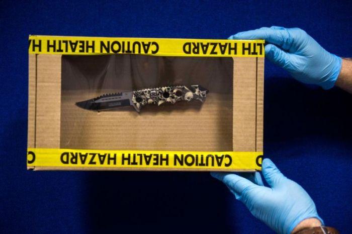 Полиция опубликовала фото оружия, изъятого на Ноттинг-Хиллском карнавале (7 фото)