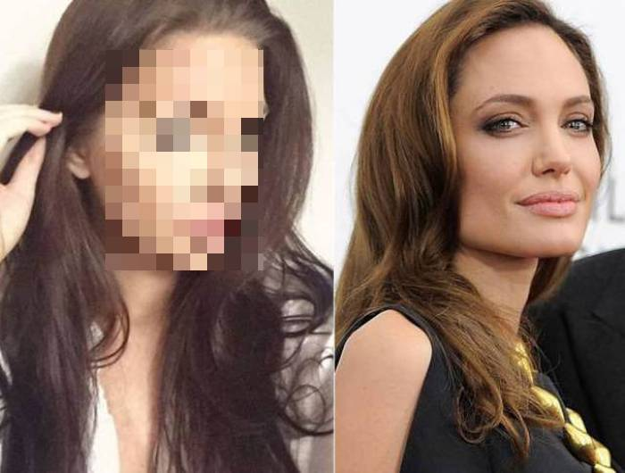 Челси Марр – самый точный двойник Анджелины Джоли (24 фото)