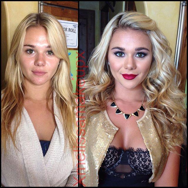 макияж девушек плейбой