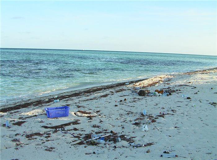 Райские уголки, утопающие в мусоре (15 фото)