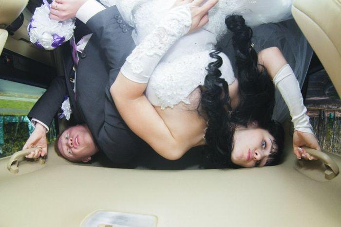 Забавные фото с русских свадеб (58 фото)