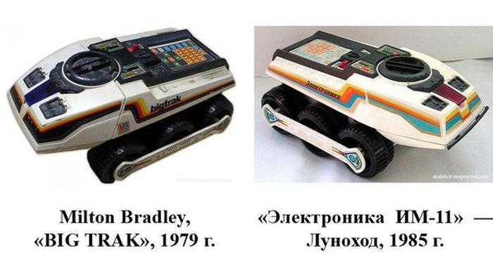 Зарубежные прототипы продукции СССР (22 фото)