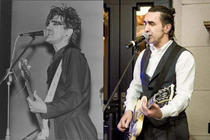 Отечественные рок-музыканты тогда и сейчас (22 фото)