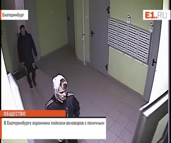 Система видеонаблюдения предотвратила кражу