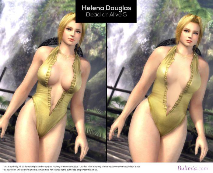 Как выглядели бы героини компьютерных игр, если они были бы обычными женщинами (10 картинок)
