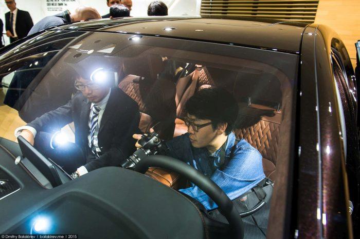 Китайские «разведчики» на Франкфуртском автошоу (8 фото)