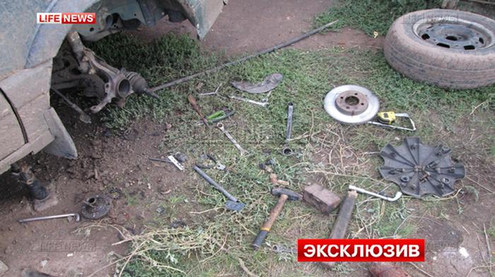Если под рукой нет молотка, то используй артиллерийский снаряд (6 фото)