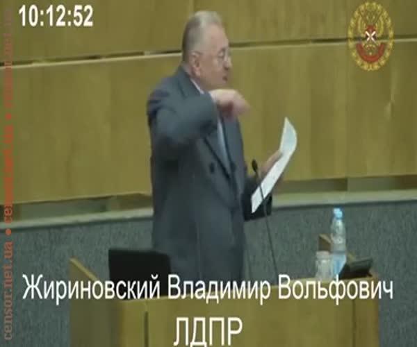 Жириновский оказался в центре серьезного скандала в Госдуме