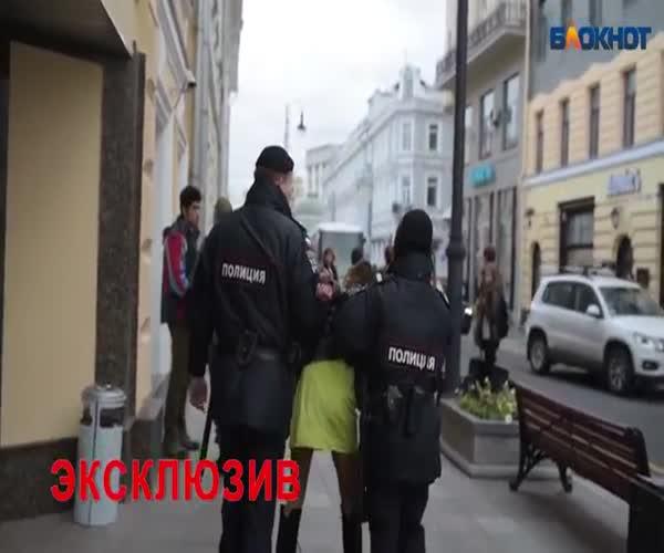 Пьяные госслужащие устроили дебош в центре Москвы