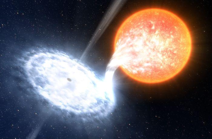 Невероятные факты о черных дырах (8 фото)