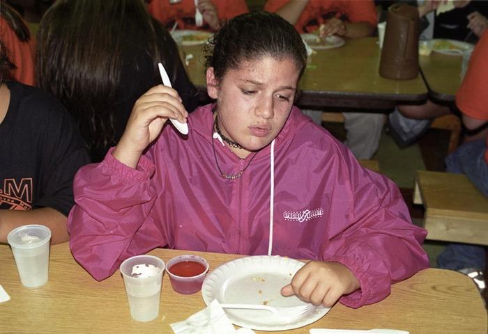 Летний лагерь для похудения: как американские тинейджеры борются с лишним весом (12 фото)