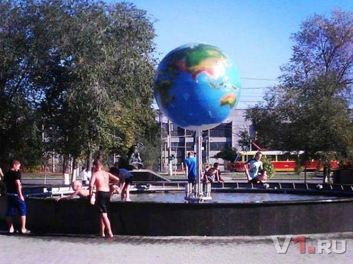 В новом волгоградском фонтане погиб мальчик (2  фото + видео)