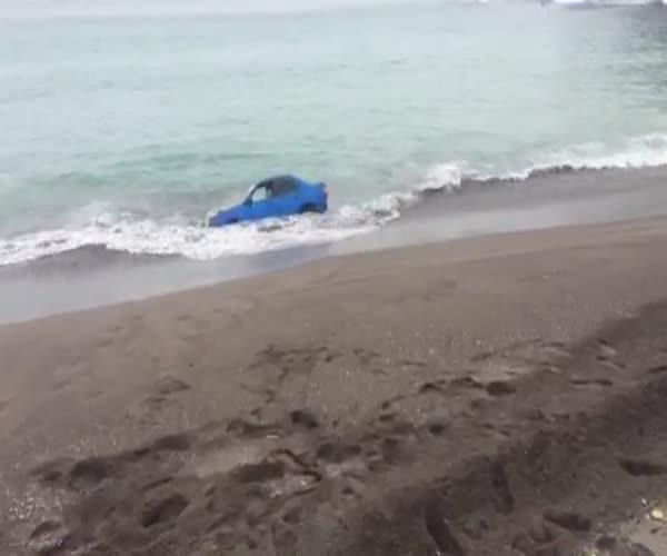 Subaru в Авачинской бухте