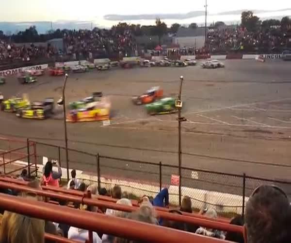 Невероятные гонки в Индианаполисе