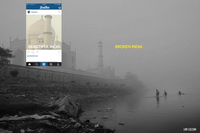 Поразительные контрасты Индии в интересном фотопроекте (8 фото)