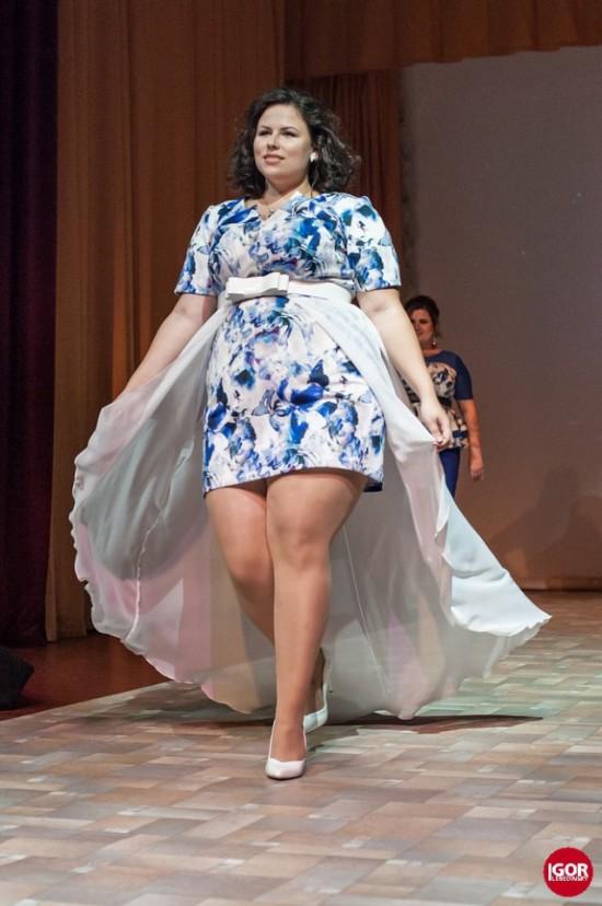 Студентка из Новосибирска стала самой красивой толстушкой России (5 фото)