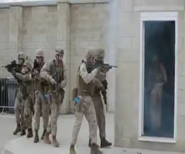 Неудачная тренировка морских пехотинцев