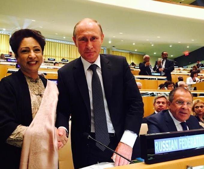 Выступление Владимира Путина на Генеральной ассамблеи ООН